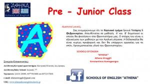 pre junior